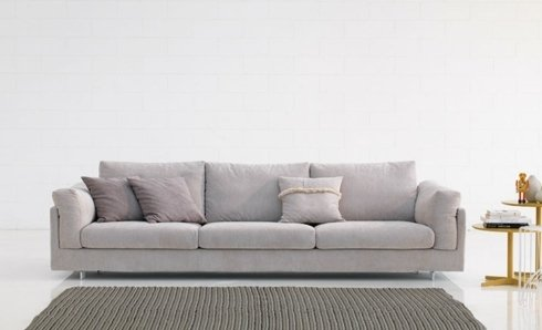 divano biba bianco