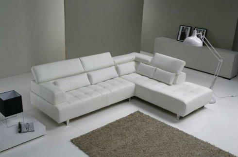 divano franco salotti bianco isola L