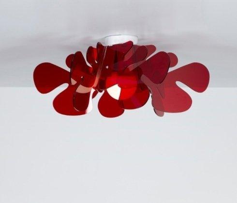 plafoniera emporium rossa
