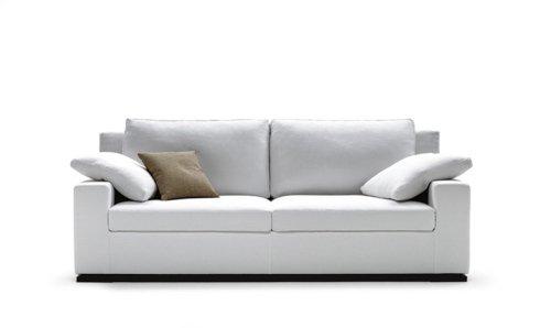divano biba bianco due posti