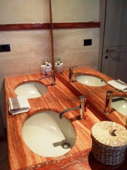 top per bagno in marmo Vercelli