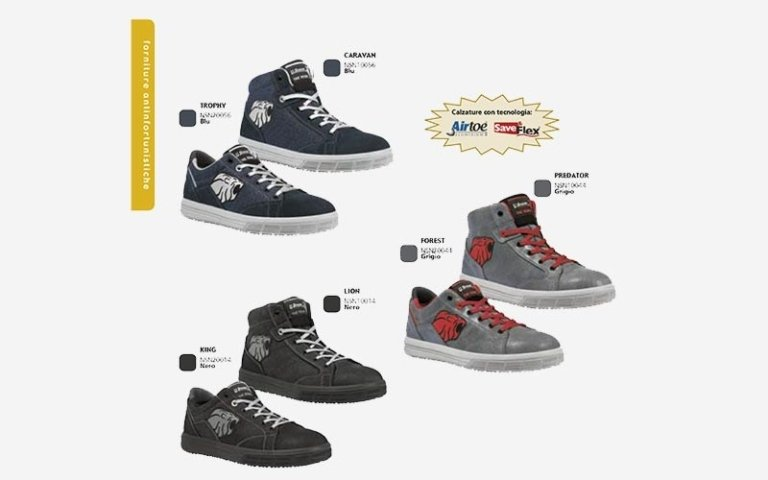 calzature lavoro