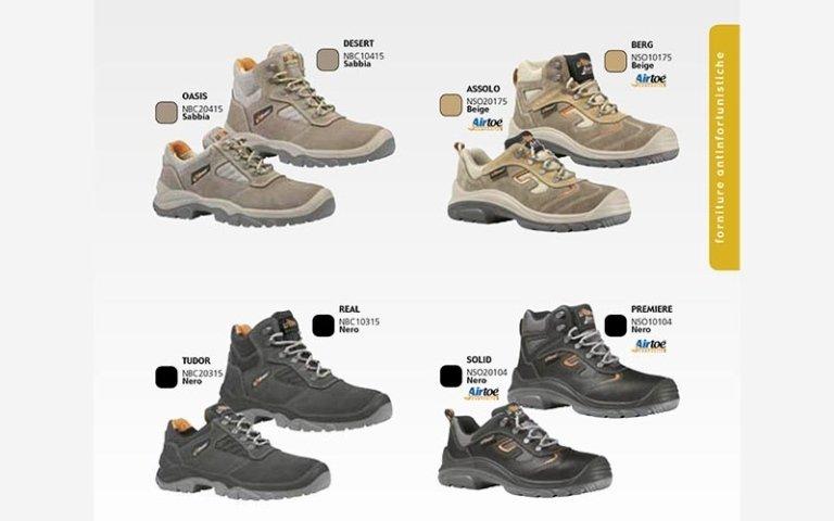 calzature antinfortunistiche