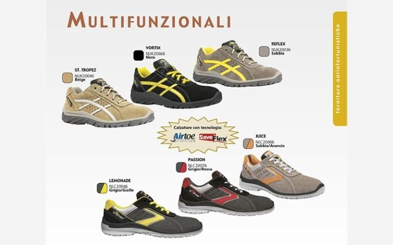 scarpe multifunzionali