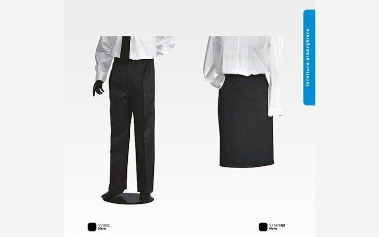 abbigliamento camerieri