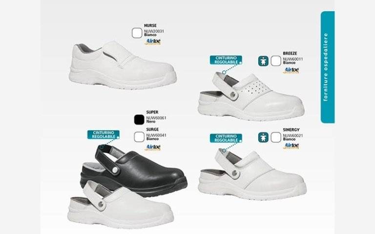 calzature ospedaliere