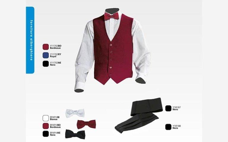 abbigliamento alberghiero