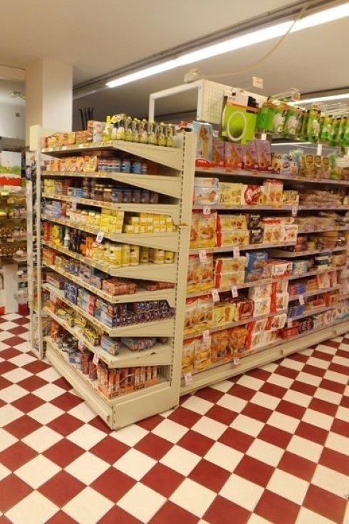 vendita alimenti confezionati