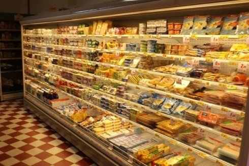 salumi e formaggi confezionati