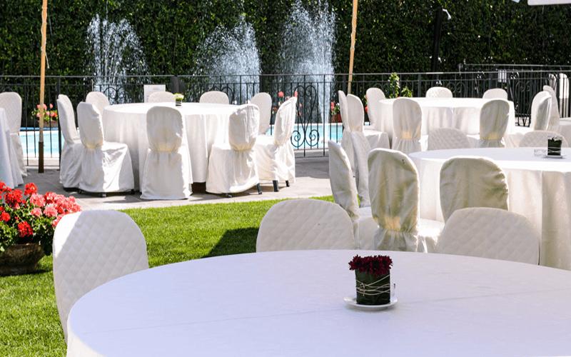 ristoranti con giardino fermo