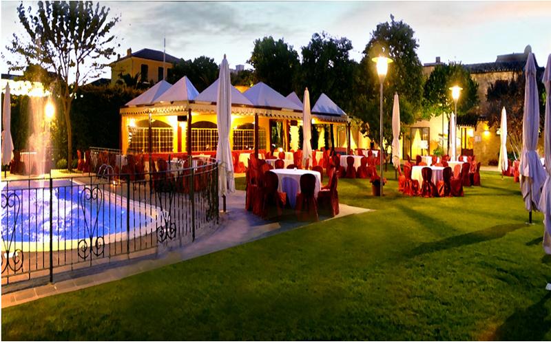 ristorante con giardino porto sant