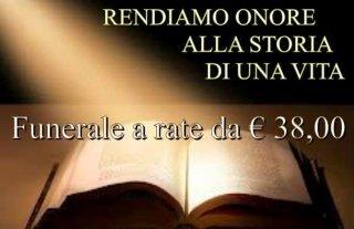 funerali economici, funerali a rate, Rieti