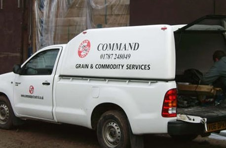 Command Pest Control van