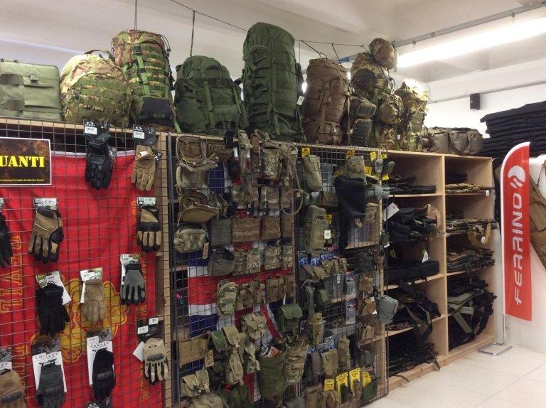 accessori militari