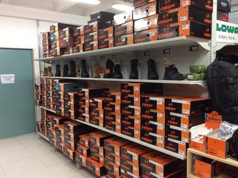 scarpe militari