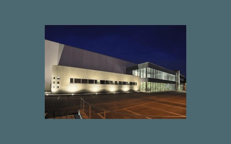 facciata cintioli vetro alluminio