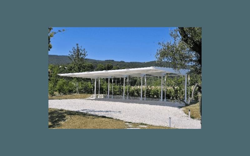 montaggio impianto a  pannelli solari