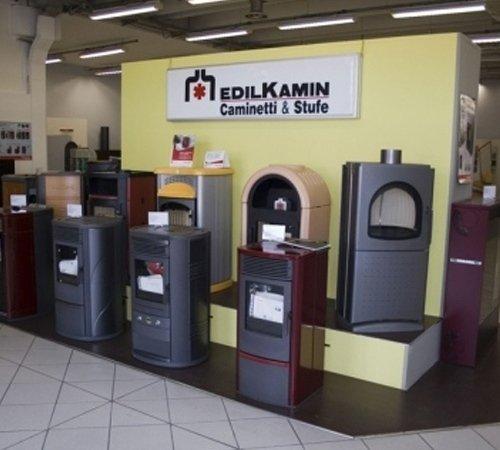 Esposizione stufe Edilkamin