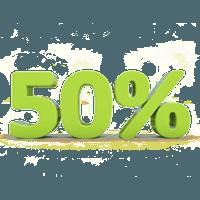 Detrazione 50%