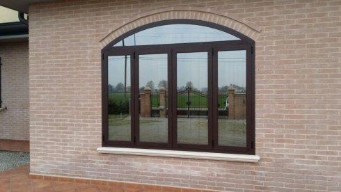 Finestra esterna in Alluminio con vetro-camera
