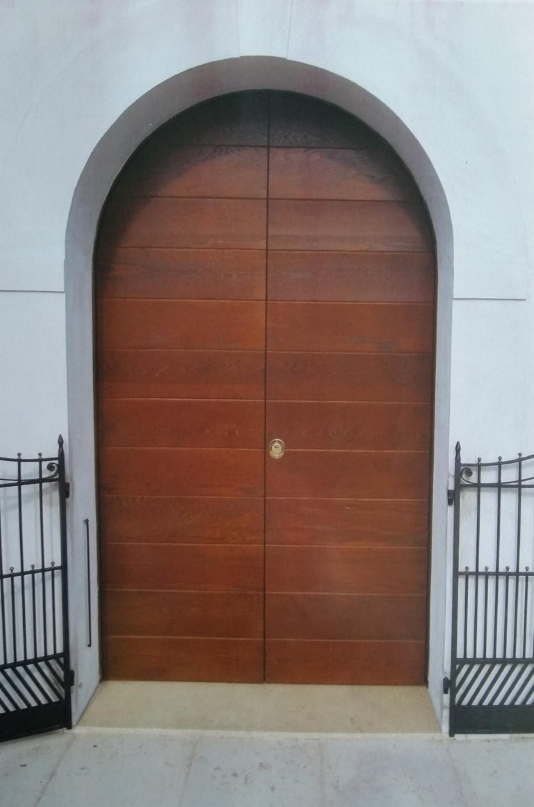 porta blindata ad arco