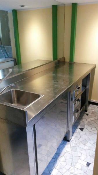 bancone cucina da bar