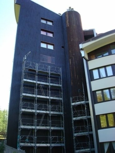 Tinteggiatura capannoni e palazzine