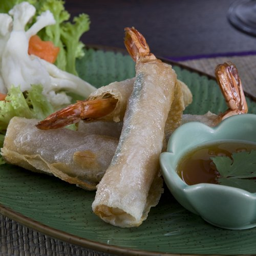 Lunch menu options for Thai Silk Restaurant in Hastings