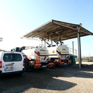 carico automezzi per trasporto gasolio