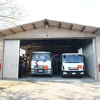 automezzi in garage Thermoservice