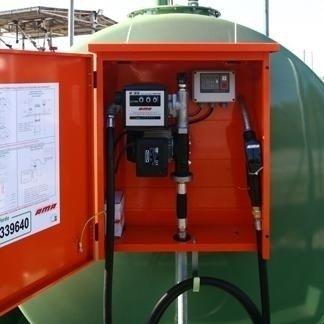 strumentazione boiler esterno per gasolio