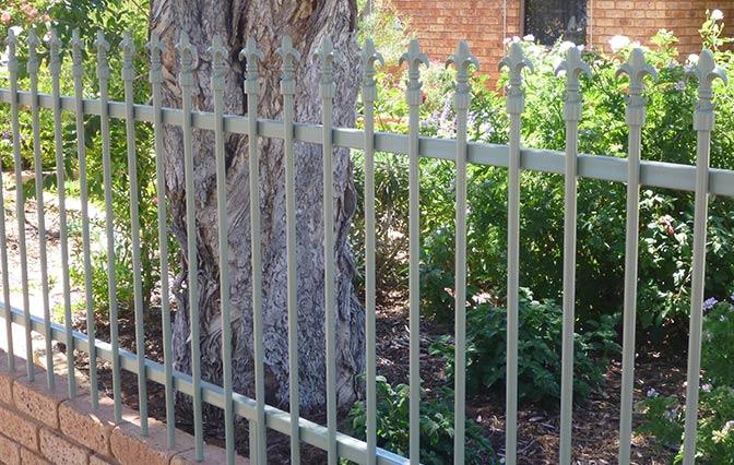 Built by geoff fencing tubular steel
