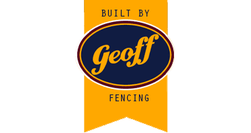 Built by geoff fencing logo