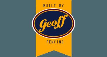 Built by geoff fencing logo