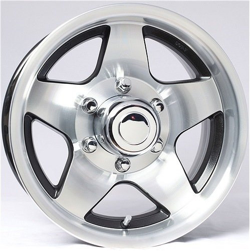 Black Star Aluminum Wheel