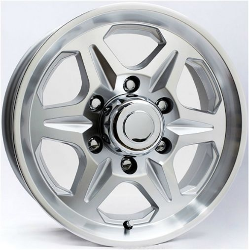 T04 6-Spoke Aluminum Wheel