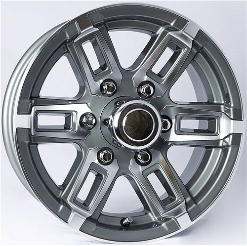 T06 6-Spoke Aluminum Wheel