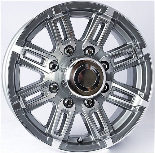 T06 8-Spoke Aluminum Wheel