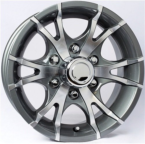 T07 6-Spoke Aluminum Wheel