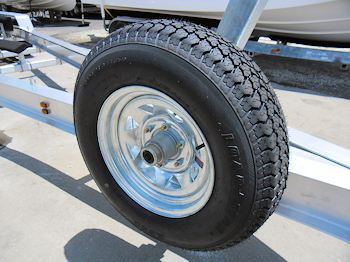 Mounted Spare Tire