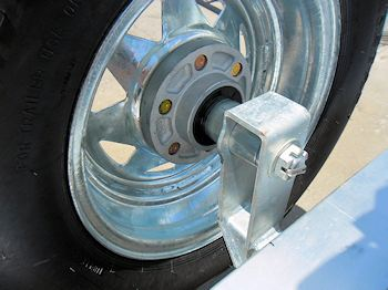 Mounted Spare Tire (Inside)