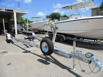 SEA-TECH Custom Aluminum Boat Trailers