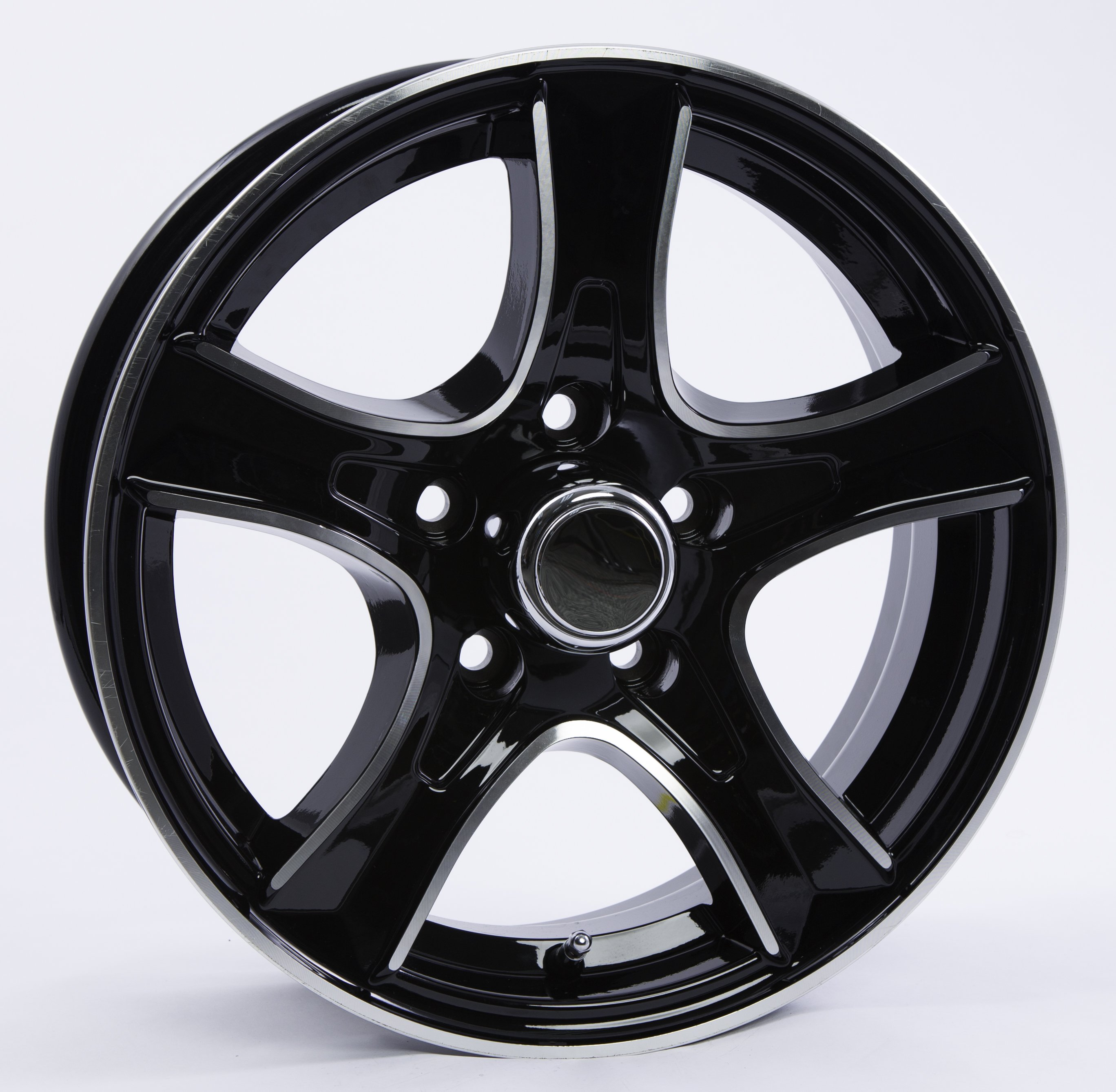 Thoroughbred 5-Lug Black
