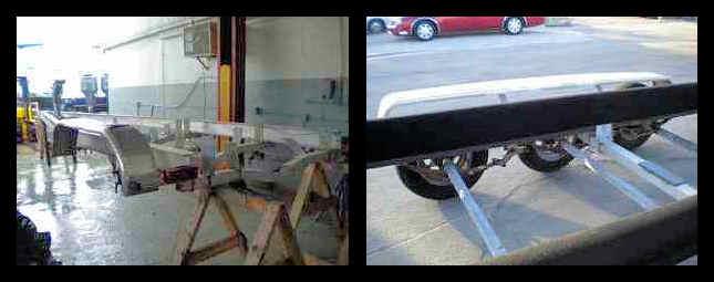 Boat Trailer Axle Repair