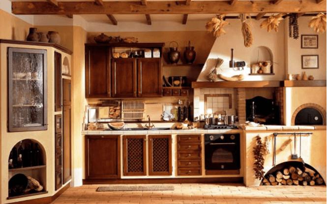 Best Cucine In Muratura Con Forno A Legna Gallery - harrop.us ...