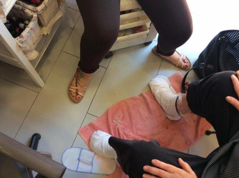 trattamento alla paraffina per mani e piedi