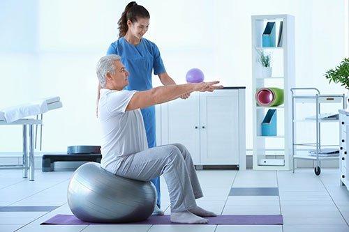 Fisioterapia con esperti