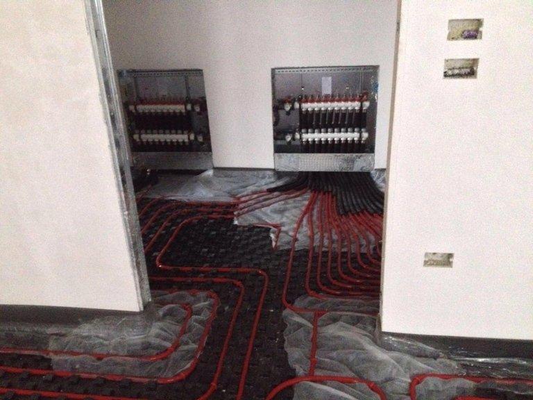 impianti a pavimento
