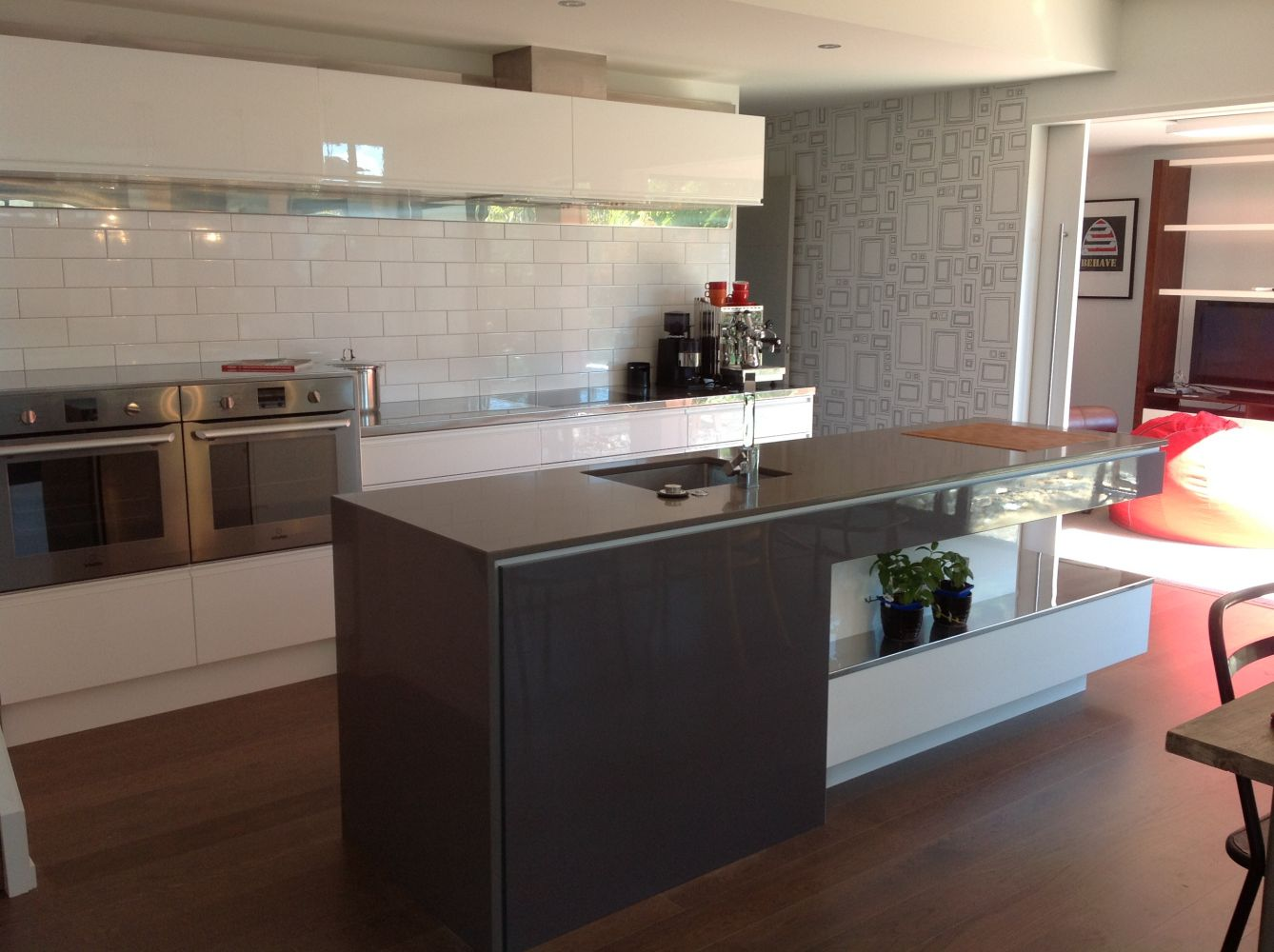 A new kitchen layout in Dunedin