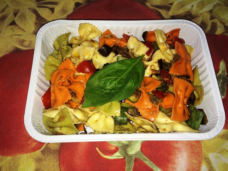 Farfalle con verdure